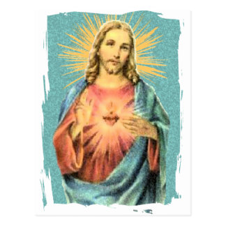 Coeur sacré de Jésus Carte Postale