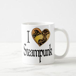 Coeur Steampunk Tasse À Café