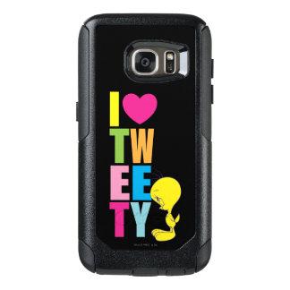 Coeur Tweety de Tweety I Coque OtterBox Samsung Galaxy S7