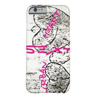 Coeur urbain - iPhone 6/6s, à peine là cas de Coque iPhone 6 Barely There
