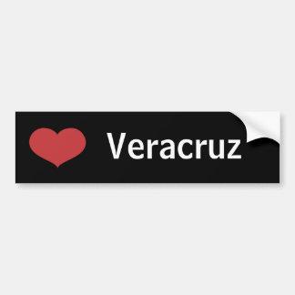 Coeur Veracruz Autocollant De Voiture