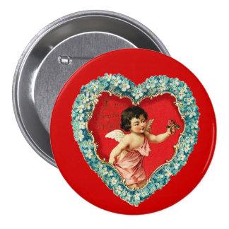 Coeur vintage de Valentine Badges