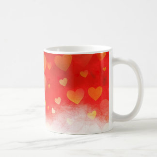 Coeurs dans la brume mug
