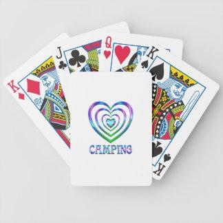 Coeurs de camping jeu de cartes
