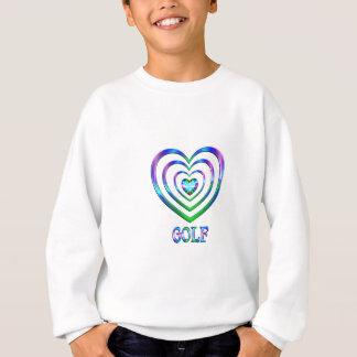 Coeurs de golf sweatshirt