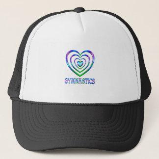 Coeurs de gymnastique casquettes