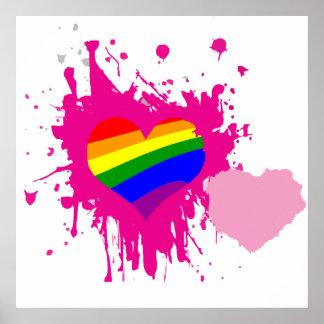 Coeurs de LGBT Poster