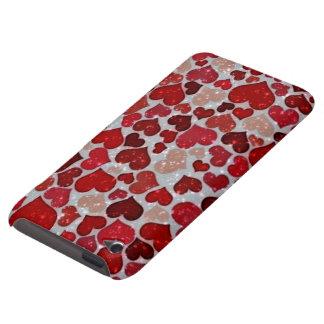 Coeurs de scintillement, coque Case-Mate iPod touch