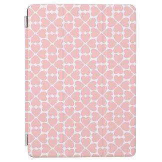 Coeurs de trèfle de feuille du rose quatre protection iPad air