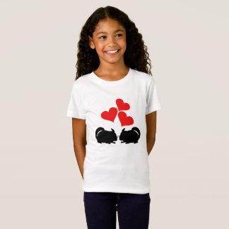 Coeurs et chinchillas T-Shirt