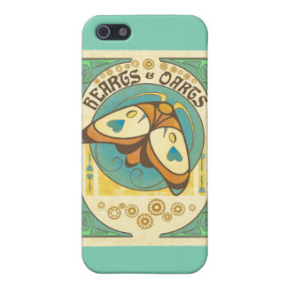 Coeurs et menthe de coque iphone de logo de dards iPhone 5 case