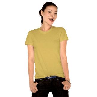 Coeurs et or de pièce en t de dards t-shirts