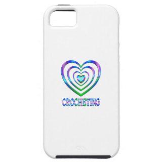 Coeurs faisants du crochet coques iPhone 5