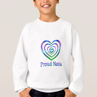 Coeurs fiers de Nana Sweatshirt