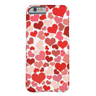 Coeurs mignons coque barely there iPhone 6