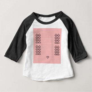 Coeurs ornementaux de mariage. Conception T-shirt Pour Bébé