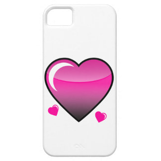 Coeurs roses coque iPhone 5