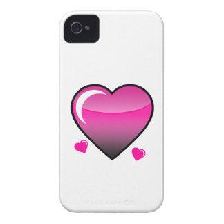 Coeurs roses étui iPhone 4