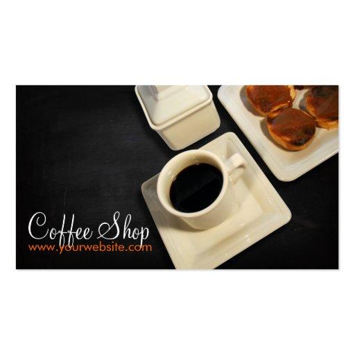 Coffee Shop Cartes De Visite Professionnelles