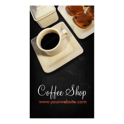 Coffee Shop Modèles De Cartes De Visite