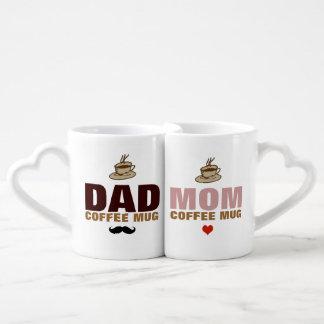 coffeemugs de papa et de maman mug amoureux