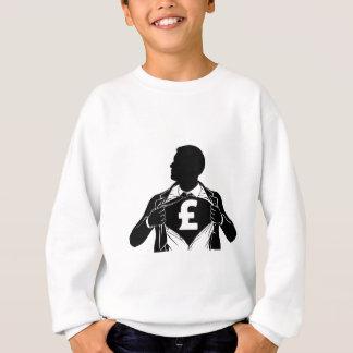 Coffre violent de chemise de héros d'homme sweatshirt
