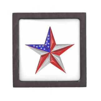 Coffret A Bijoux 4 juillet étoile