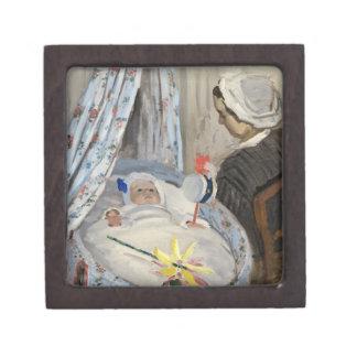 Coffret A Bijoux Claude Monet   le berceau, Camille avec le fils