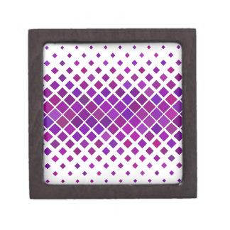 Coffret A Bijoux Diamants violets