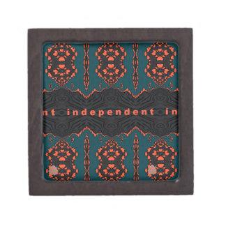 Coffret A Bijoux Indépendant et fier