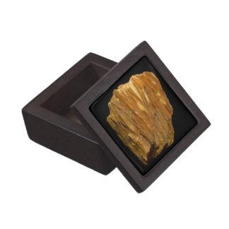 Coffret A Bijoux Photo minérale de barytine crêtée sur le noir