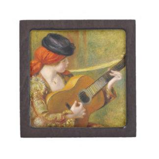 Coffret A Bijoux Pierre une jeune femme espagnole de Renoir | avec