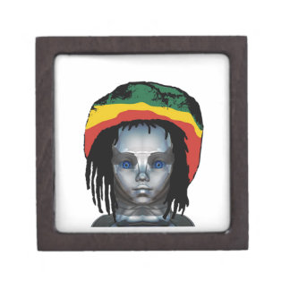 Coffret A Bijoux Robotique Rastafarian