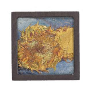 Coffret A Bijoux Tournesols de Vincent van Gogh  , 1887