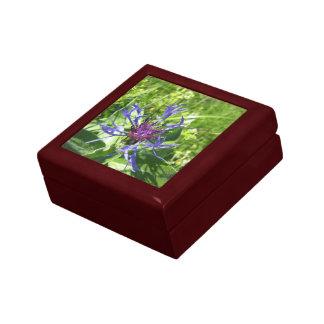 Coffret bois Fleur Petite Boîte À Bijoux Carrée