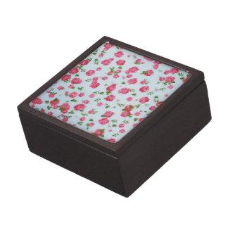 Coffret Cadeau De Première Qualité Belle peinture de roses de boîte-cadeau