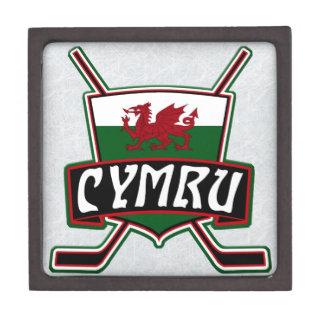 Coffret Cadeau De Première Qualité Boîte de drapeau de hockey sur glace de Gallois