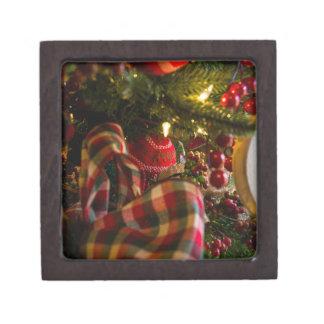 Coffret Cadeau De Première Qualité Dans un arbre de Noël