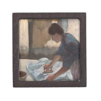 Coffret Cadeau De Première Qualité Femme d'Edgar Degas | repassant, c.1876-87