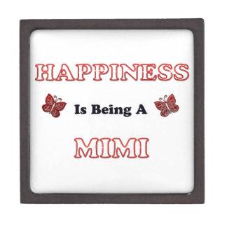 Coffret Cadeau De Première Qualité Le bonheur est A Mimi