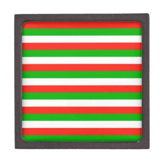 Coffret Cadeau De Première Qualité le drapeau du Pays de Galles barre des lignes