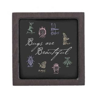 Coffret Cadeau De Première Qualité Les insectes sont beaux