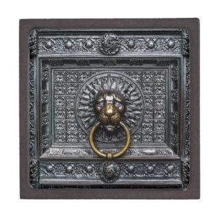 Coffret Cadeau De Première Qualité Lion de heurtoir - noir/or