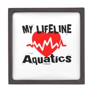 Coffret Cadeau De Première Qualité Ma ligne de vie conceptions de sports d'Aquatics