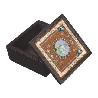 Coffret Cadeau De Première Qualité Papillon - boîte-cadeau en bois de transformation