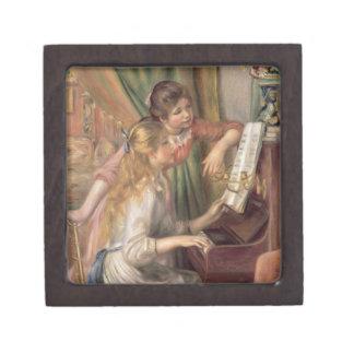 Coffret Cadeau De Première Qualité Pierre jeunes filles de Renoir un | au piano