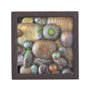 Coffret Cadeau De Première Qualité Pour la plage, boîte de roche de méditation de