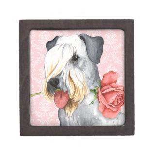 Coffret Cadeau De Première Qualité Valentine Cesky rose Terrier