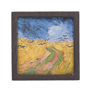 Coffret Cadeau De Première Qualité Wheatfield de Vincent van Gogh | avec des