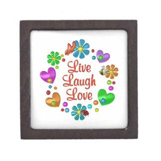 Coffrets Cadeaux De Première Qualité Amour vivant de rire d'amusement